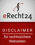 E-Recht24 Disclaimer Sigel